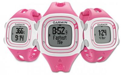 Garmin-Forerunner-10-Pink-Ladies-Womens-Running-Watch