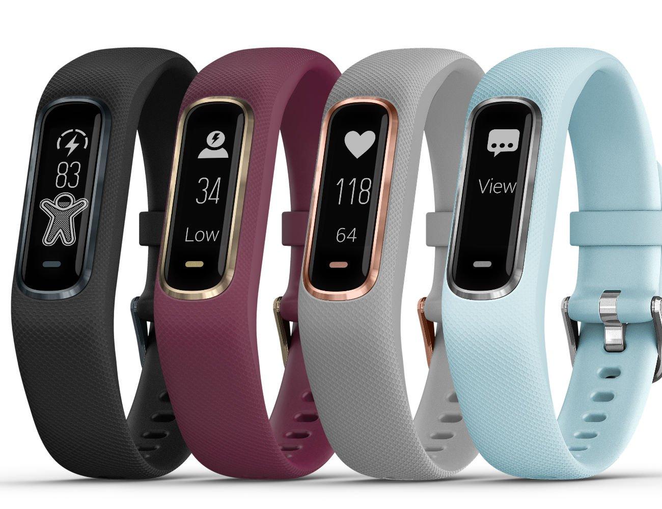 Garmin Vivosmart 4 ฟิตเนสแทรคเกอร์รุ่นใหม่ วัดดระดับออกซิเจนในเลือดได้