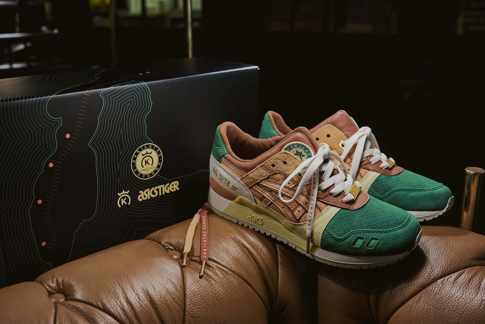 ASICSTIGER X 24 Kilates ออก ASICSTIGER GEL-LYTE III EXPRESS รุ่น Limited Edition