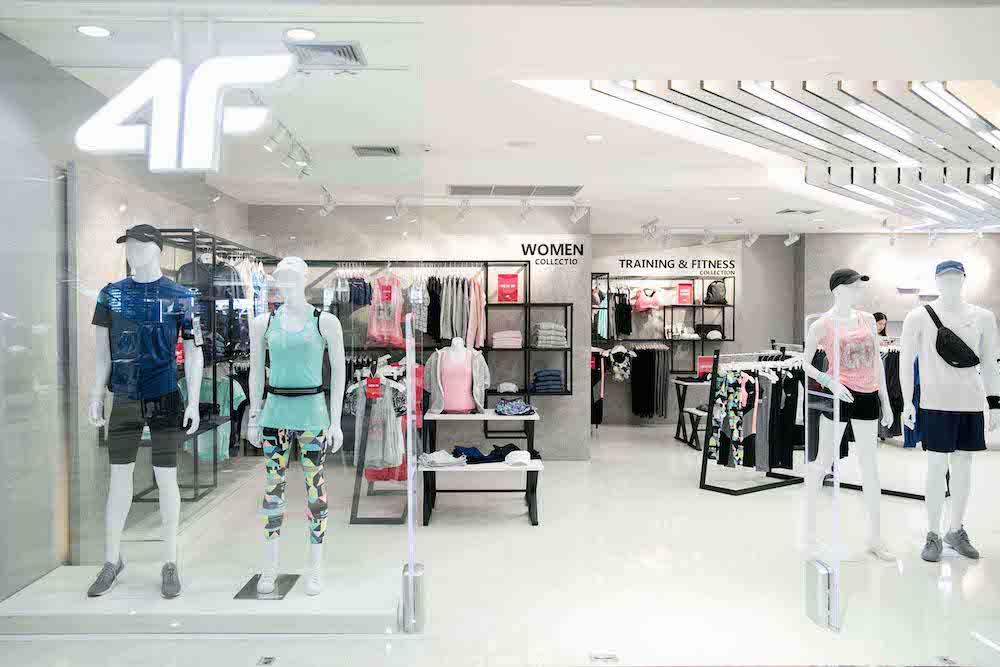 4F แบรนด์ไลฟ์สไตล์กีฬาจากประเทศโปแลนด์ เปิดตัวร้านในรูปแบบโมโนแบรนด์ เป็นครั้งแรกในประเทศไทย