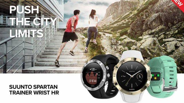 SUUNTO SPARTAN TRAINER WRIST HR : นาฬิกาออกกำลังกายรุ่นที่ 4 จาก Suunto