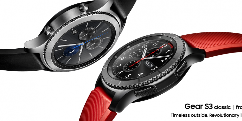 Multi-Functional outdoor smart watch โดย SAMSUNG GEAR S3 FRONTIER และ GEAR S3 CLASSIC