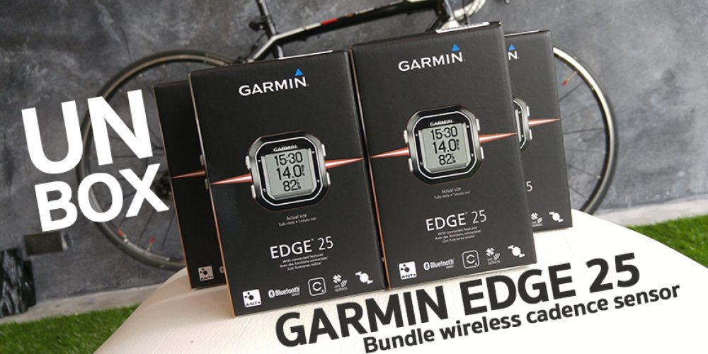 แกะกล่อง Garmin Edge 25 Bundle Wireless Cadence Sensor