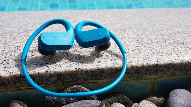 SONY Walkman NW-WS623 จะวิ่ง / ปั่น / ว่ายน้ำ ก็มีเพลงฟังได้ตลอดเวลา