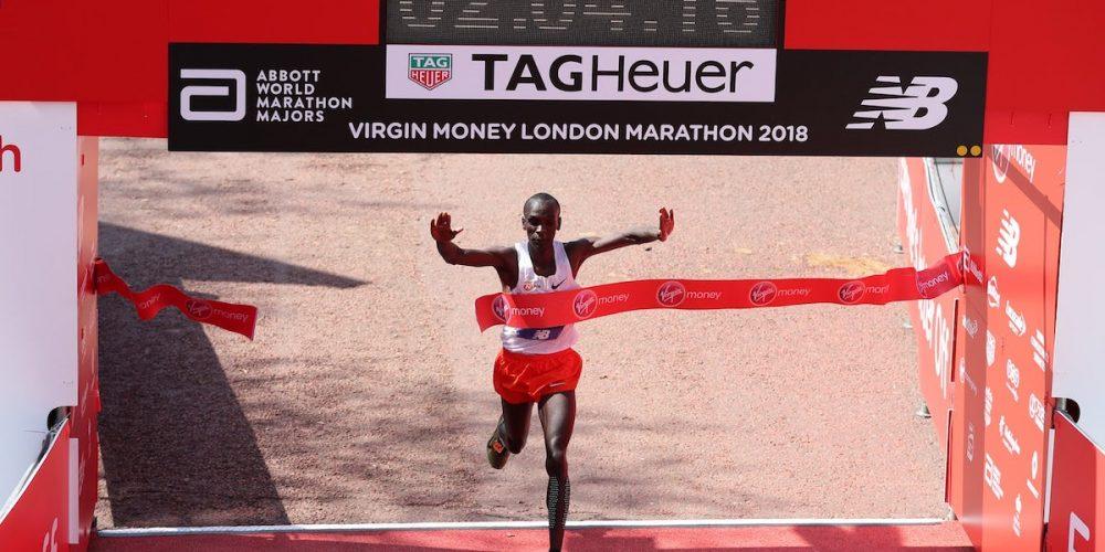 Eliud Kipchoge London Marathon 2018