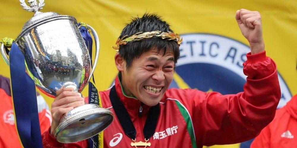 นักวิ่งมาราธอนชายชาวญี่ปุ่น คว้าแชมป์ Boston Marathon 2018